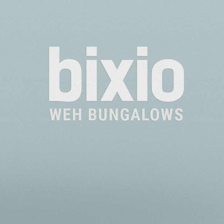 Bixio Weh bungalows · Koimakoi · Serena Perrotta · Graphic, web design & photography