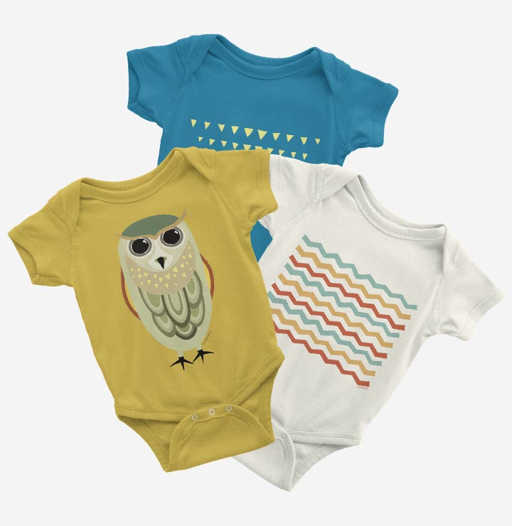 Organic baby bodysuit offer · Koimakoi · Serena Perrotta